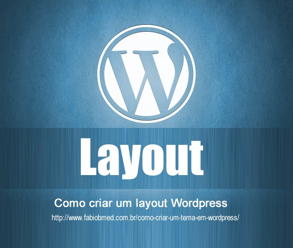 wordpress criar layout wordpress