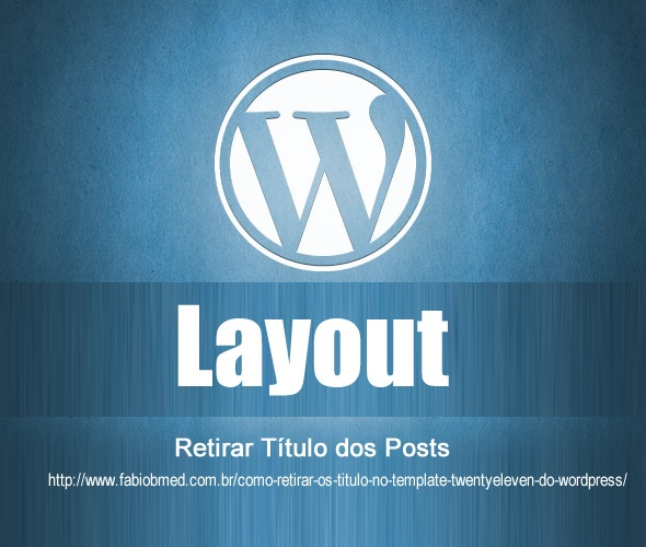wordpress retirar titulo dos post