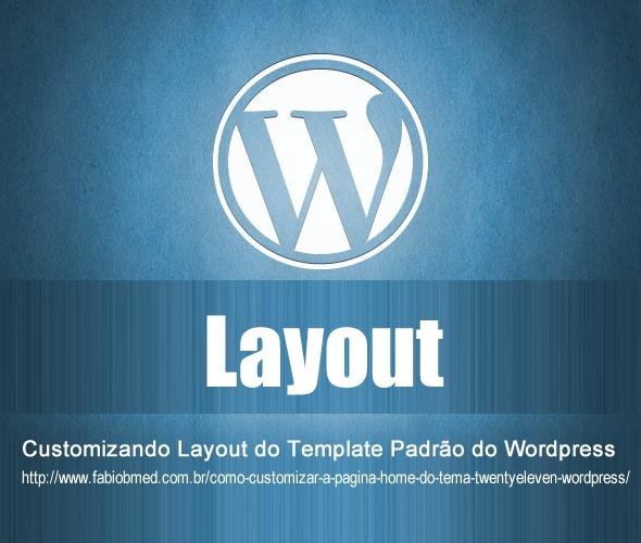 wordpress template padrão