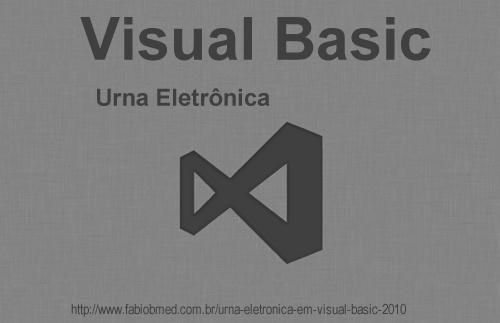 visual basic urna eletronica