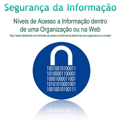 Níveis de Acesso a Informação dentro de uma Organização ou na Web