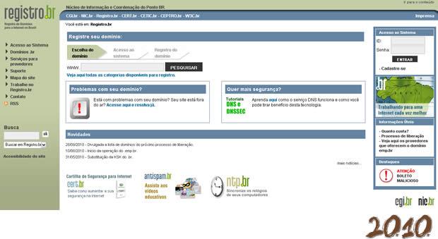 registro br 2010