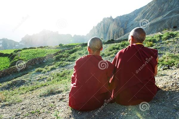 monge tibet